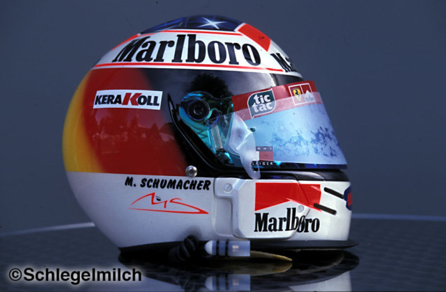 Michael Schumacher Early Helmet