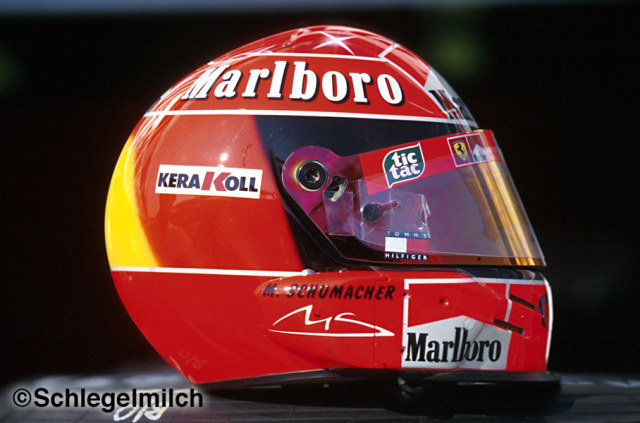 Michael Schumacher's Late Helmet