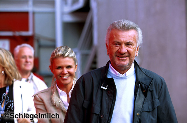 Willi Weber and Corinna Schumacher