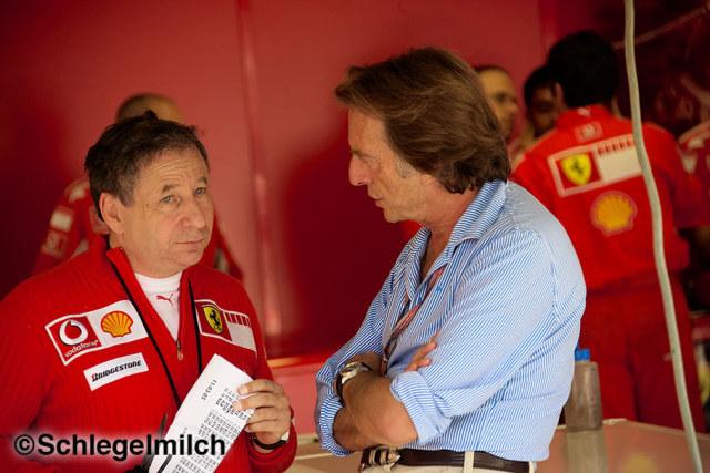 Jean Todt and Luca di Montezemolo